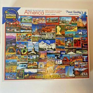 White Mountain Puzzles Best Places In America 1000